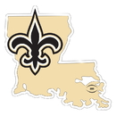 Siskiyou Buckle New Orleans Saints Home State 11 Inch Magnet, FSTM150