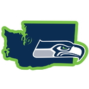 Siskiyou Buckle Seattle Seahawks Home State 11 Inch Magnet, FSTM155