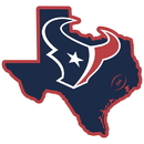 Siskiyou Buckle FSTM190 Houston Texans Home State 11 Inch Magnet