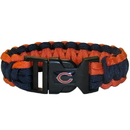 Siskiyou Buckle FSUB005 Chicago Bears Survivor Bracelet