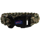 Siskiyou Buckle FSUB015GC Buffalo Bills Camo Survivor Bracelet