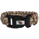 Siskiyou Buckle FSUB035TC Arizona Cardinals Camo Survivor Bracelet