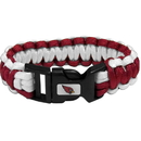 Siskiyou Buckle FSUB035 Arizona Cardinals Survivor Bracelet