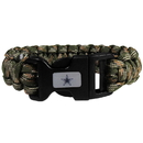 Siskiyou Buckle FSUB055GC Dallas Cowboys Camo Survivor Bracelet