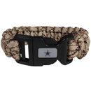 Siskiyou Buckle FSUB055TC Dallas Cowboys Camo Survivor Bracelet