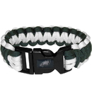 Siskiyou Buckle FSUB065 Philadelphia Eagles Survivor Bracelet