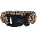 Siskiyou Buckle FSUB120TC New England Patriots Camo Survivor Bracelet