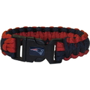 Siskiyou Buckle FSUB120 New England Patriots Survivor Bracelet