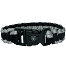 Siskiyou Buckle FSUB125 Oakland Raiders Survivor Bracelet