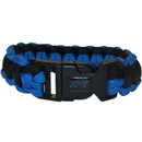 Siskiyou Buckle FSUB170 Carolina Panthers Survivor Bracelet