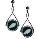 Siskiyou Buckle FTDE065 Philadelphia Eagles Tear Drop Earrings