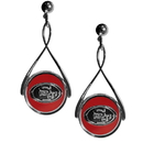 Siskiyou Buckle FTDE075 San Francisco 49ers Tear Drop Earrings