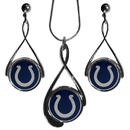 Siskiyou Buckle FTDS050DS Indianapolis Colts Tear Drop Jewelry Set