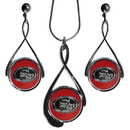Siskiyou Buckle FTDS075DS San Francisco 49ers Tear Drop Jewelry Set
