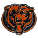 Siskiyou Buckle FTH005B2 Chicago Bears Hitch Cover Class III Wire Plugs