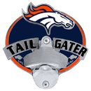 Siskiyou Buckle FTH020TG Denver Broncos Tailgater Hitch Cover Class III