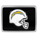 Siskiyou Buckle FTH040SL San Diego Chargers Hitch Cover Class II and Class III Metal Plugs