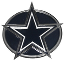 Siskiyou Buckle FTH055B Dallas Cowboys Hitch Cover Class III Wire Plugs