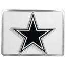 Siskiyou Buckle FTH055SL Dallas Cowboys Hitch Cover Class II and Class III Metal Plugs