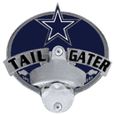 Siskiyou Buckle FTH055TG Dallas Cowboys Tailgater Hitch Cover Class III