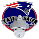 Siskiyou Buckle FTH120TG New England Patriots Tailgater Hitch Cover Class III