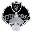 Siskiyou Buckle FTH125TG Oakland Raiders Tailgater Hitch Cover Class III