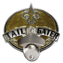 Siskiyou Buckle FTH150TG New Orleans Saints Tailgater Hitch Cover Class III