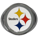 Siskiyou Buckle FTH160B2 Pittsburgh Steelers Hitch Cover Class III Wire Plugs