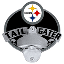 Siskiyou Buckle FTH160TG Pittsburgh Steelers Tailgater Hitch Cover Class III