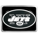 Siskiyou Buckle FTHB100S New York Jets Hitch Cover Class II and Class III Metal Plugs