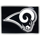 Siskiyou Buckle FTHB130S St. Louis Rams Hitch Cover Class II and Class III Metal Plugs