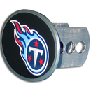 Siskiyou Buckle FTHO185 Tennessee Titans Oval Metal Hitch Cover Class II and III