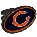 Siskiyou Buckle FTHP005 Chicago Bears Plastic Hitch Cover Class III
