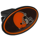 Siskiyou Buckle FTHP025 Cleveland Browns Plastic Hitch Cover Class III