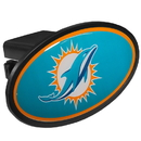 Siskiyou Buckle FTHP060 Miami Dolphins Plastic Hitch Cover Class III