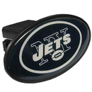 Siskiyou Buckle FTHP100 New York Jets Plastic Hitch Cover Class III