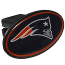 Siskiyou Buckle FTHP120 New England Patriots Plastic Hitch Cover Class III