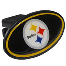 Siskiyou Buckle FTHP160 Pittsburgh Steelers Plastic Hitch Cover Class III