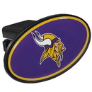 Siskiyou Buckle FTHP165 Minnesota Vikings Plastic Hitch Cover Class III