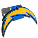 Siskiyou Buckle FTHS040S San Diego Chargers Large Hitch Cover Class II and Class III Metal Plugs