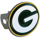 Siskiyou Buckle FTHS115S Green Bay Packers Large Hitch Cover Class II and Class III Metal Plugs