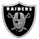 Siskiyou Buckle FTHS125S Oakland Raiders Large Hitch Cover Class II and Class III Metal Plugs