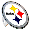 Siskiyou Buckle FTHS160S Pittsburgh Steelers Large Hitch Cover Class II and Class III Metal Plugs