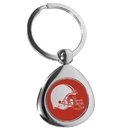 Siskiyou Buckle Cleveland Browns Round Teardrop Key Chain, FTKP025
