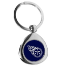 Siskiyou Buckle Tennessee Titans Round Teardrop Key Chain, FTKP185