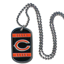 Siskiyou Buckle FTN005 Chicago Bears Tag Necklace