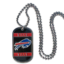 Siskiyou Buckle FTN015 Buffalo Bills Tag Necklace
