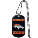 Siskiyou Buckle FTN020 Denver Broncos Tag Necklace