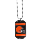Siskiyou Buckle FTN025 Cleveland Browns Tag Necklace