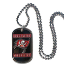 Siskiyou Buckle FTN030 Buccaneers Tag Necklace